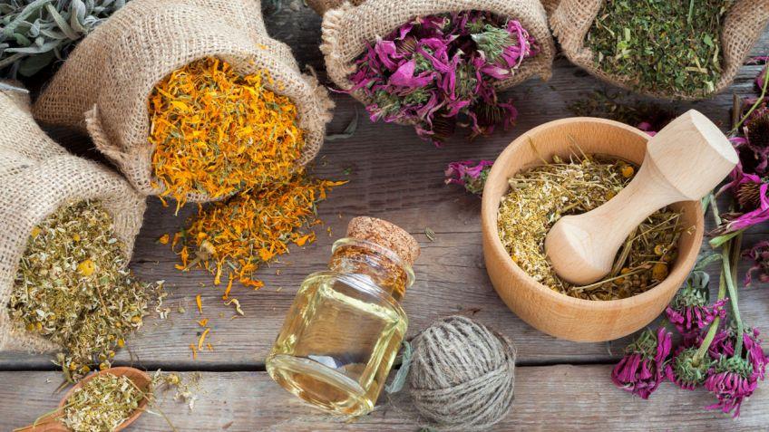 Diferentes remedios naturales