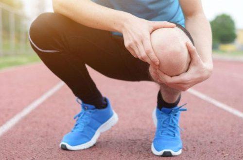 Atleta con olor muscular