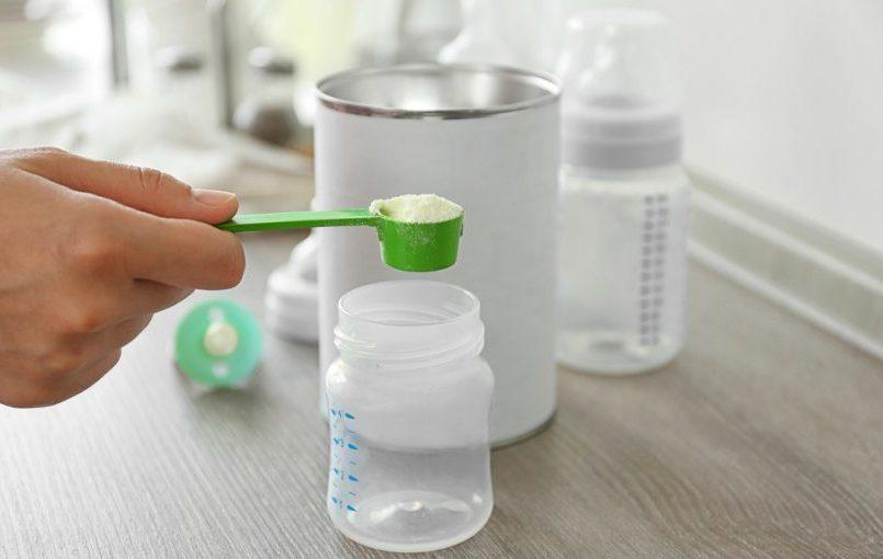 como preparar formula infantil
