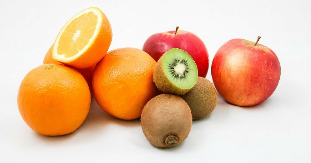 Naranjas, kiwis y manzanas