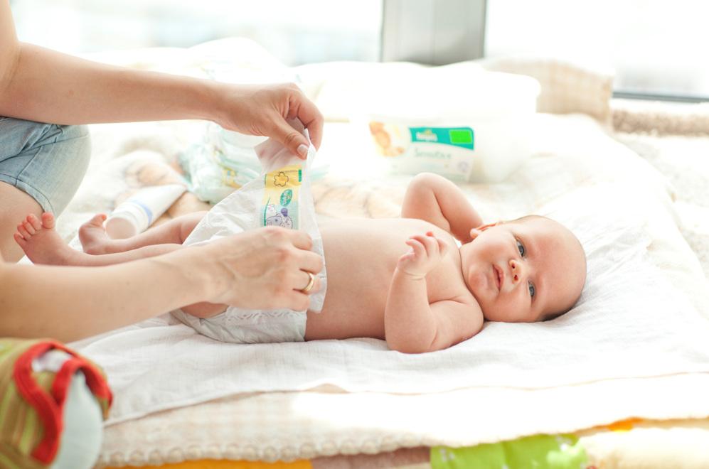tips para cambiar el pañal de tu recién nacido