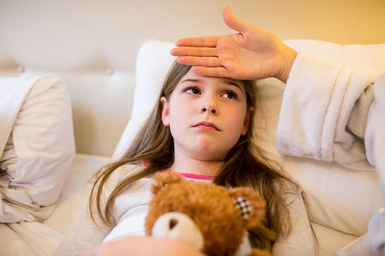 Como eliminar la gripe de los niños