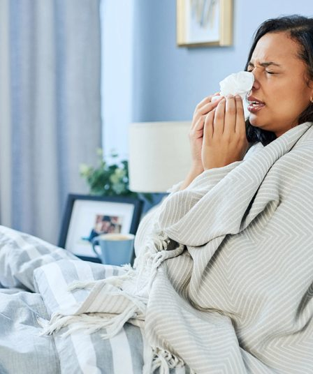 alergias en la habitación