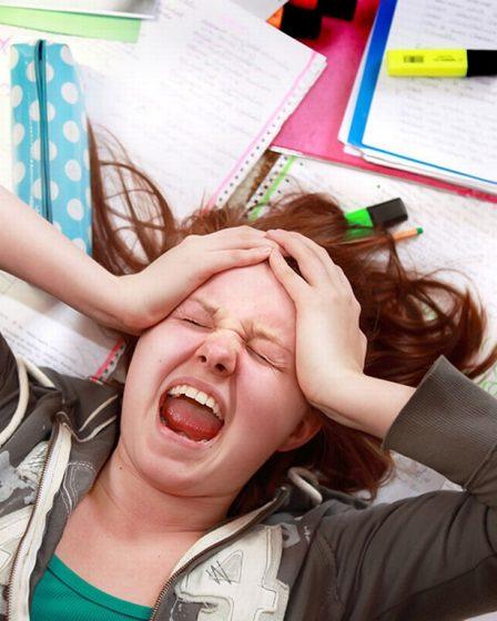 estrés en jóvenes
