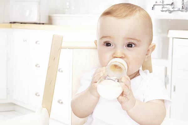 leche en fórmula
