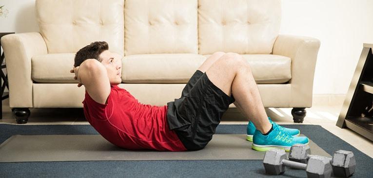 que ejercicio hacer en casa