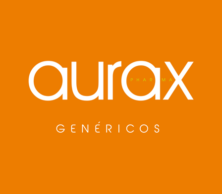 Logo medicamentos genéricos Aurax