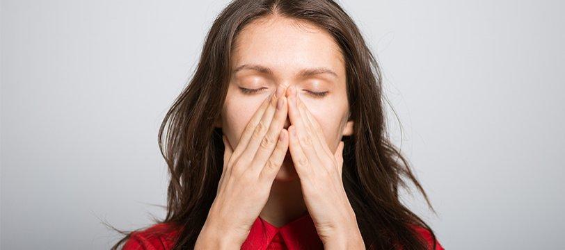 tienes la nariz congestionada