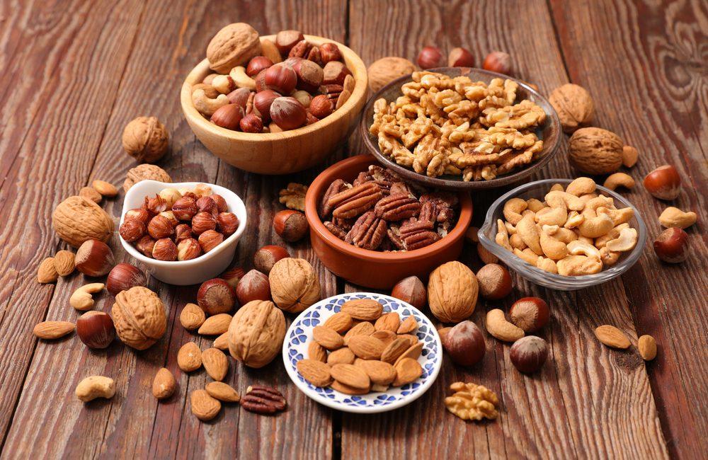 los frutos secos