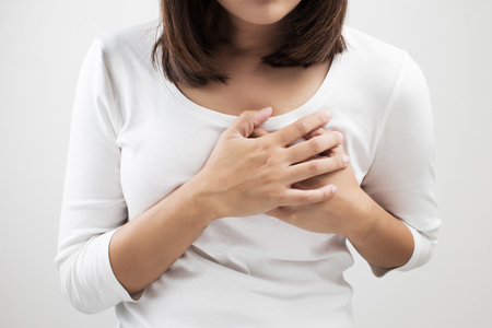 angina de pecho en mujeres