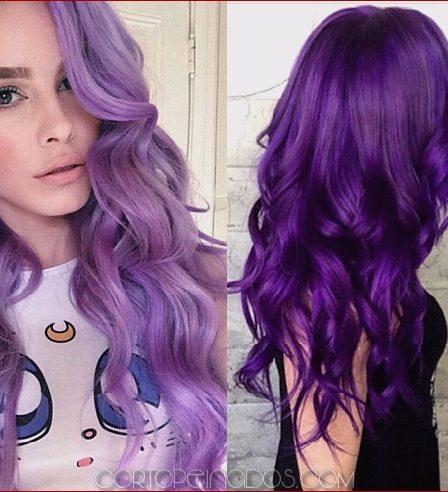 cabello con color