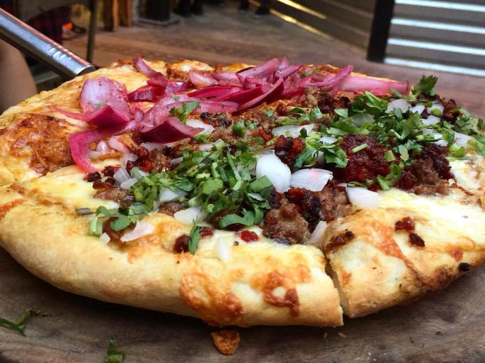 pizzas de pastor