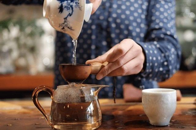 preparar té